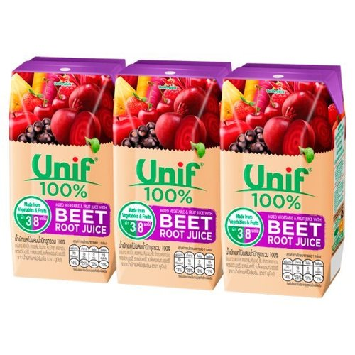 Unif 100% Mixed Vegetable And Fruit Juice