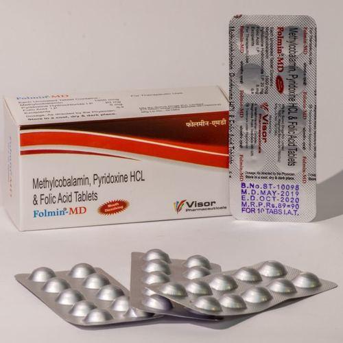 Methylcobalamin Pyridoxine HCL & Folic Acid Tablets