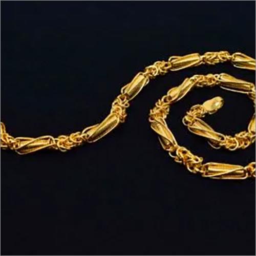 Artificial Gold Chain