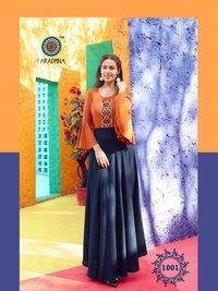 Fashion Fabulous Vol 1 Heavy Rayon With Embroidery & Manual Work Kurtis