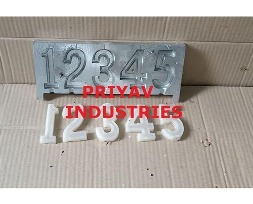 Number Candle making Molds