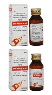 Levocetirizine Dihydrochloride & Montelukast Syrup