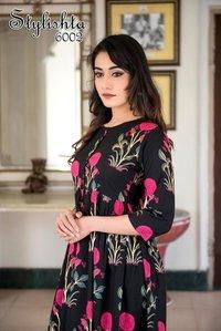 Long Fancy Designer Gown