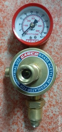 Acetylene Regulator Single Gauge