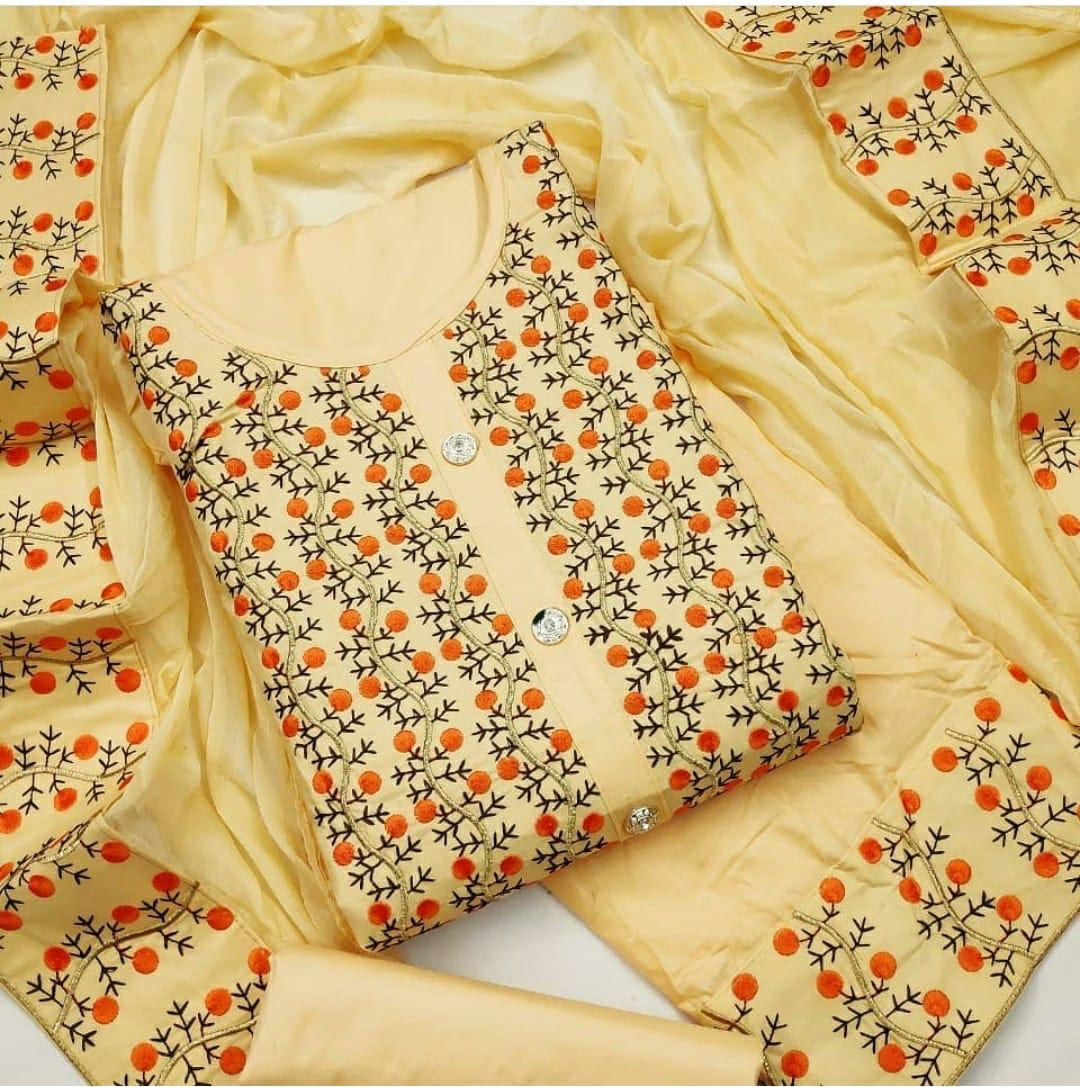 Embroidery Drees