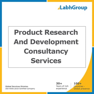 Product research and development consultancy services