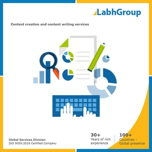 Content creation and content marketing services
