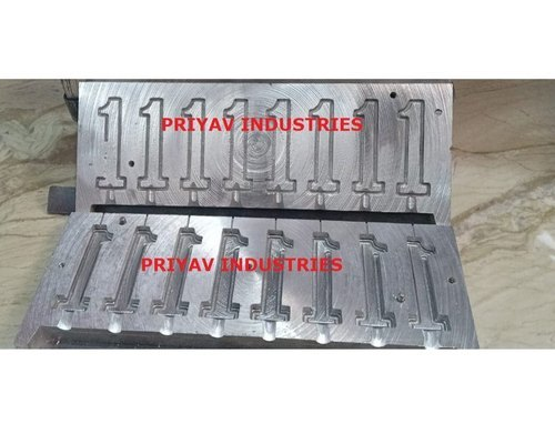 1 Number Candle Making Mold