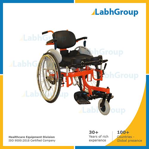 Arise standing wheel chair