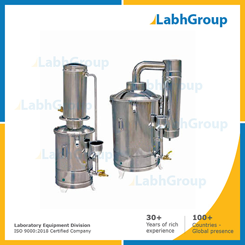 Water distiller for laboratory