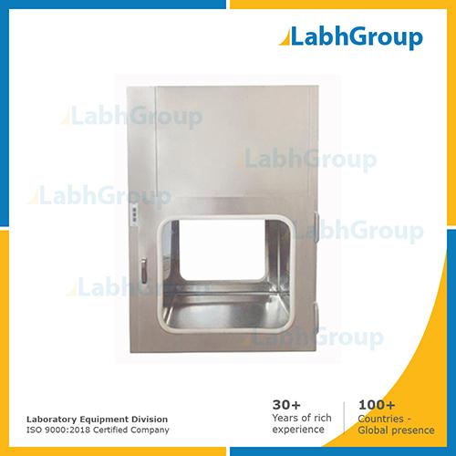 Pass box for laboratory