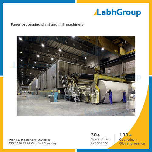 Best Quality Paper Processing Plant And Mill Machinery