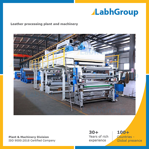 Best quality leather processing plant and machinery