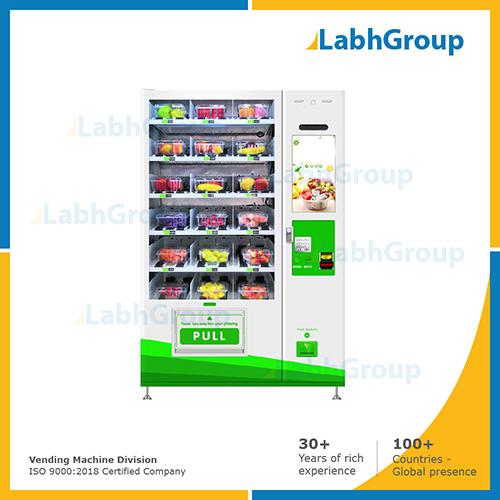 Vegetable & fruit vending machine