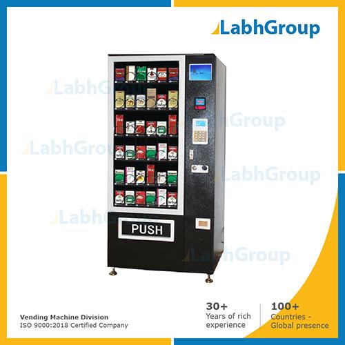 Cigarette box vending machine
