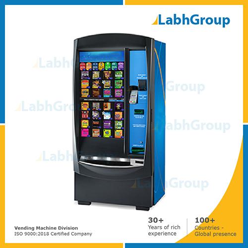 Self-service lottery vending machine