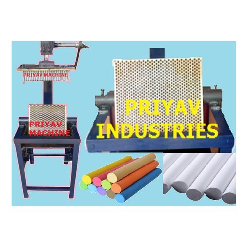 Gun Metal Block School Chalk Making Machine