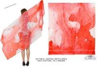 Summer Digital Print Shawls