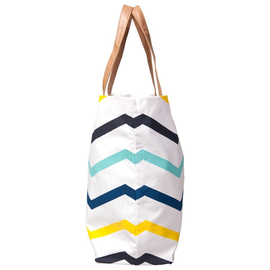 12 Oz Canvas Tote Bag With PU Leather Handle