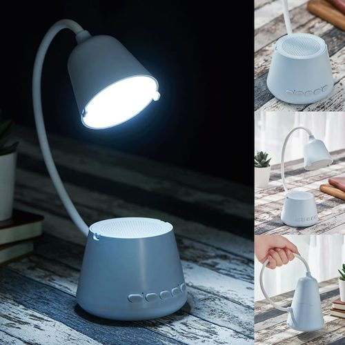 LED Lamp with Bluetooth Speaker