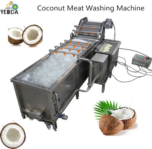 Full automatic bubble Coconut meat cleaning washing machine