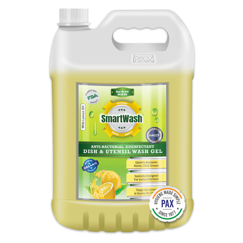 SmartWash Anti-Bacterial Disinfectant Dish & Utensil Wash Gel