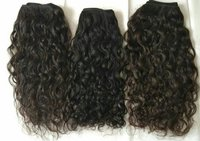 Temple Curly Indian Human Hair Extensions
