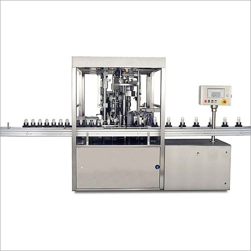 Fully Automatic Rinsing Filling And Capping Machine