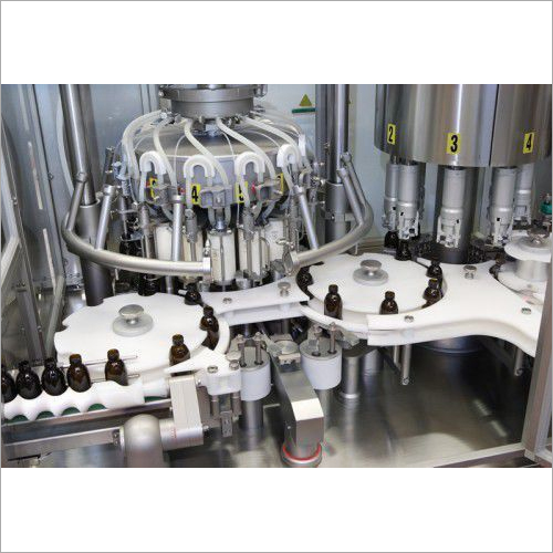 Monoblock Vial Filling And Capping Machine