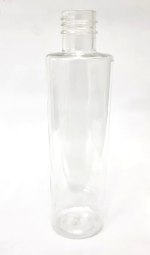 Cosmetic Cylinder Clear PET Bottle