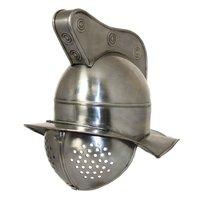 Roman Gladiator Fighter Helmet - MOVIE GLADIATOR ARMOR HELMET