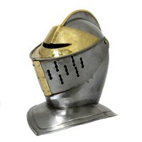 Medieval Early Renaissance Armor Knight Closed Helmet