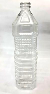 Edible Oil Clear PET Bottle - Square