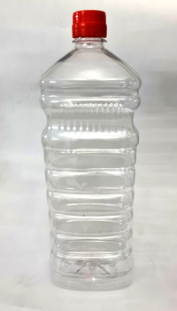 Edible Oil Clear PET Bottle - Square