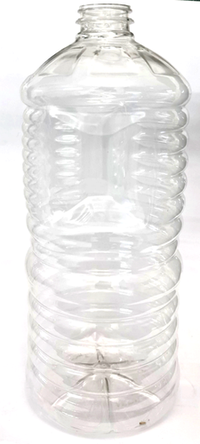 Edible Oil Grip Clear PET Bottle