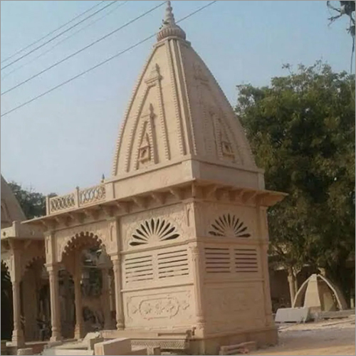 Handcrafted Sandstone Temple
