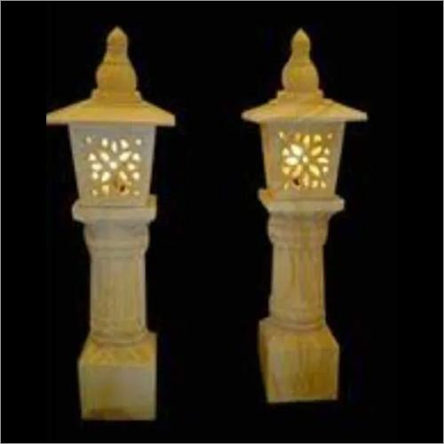 Stone Garden Lamp