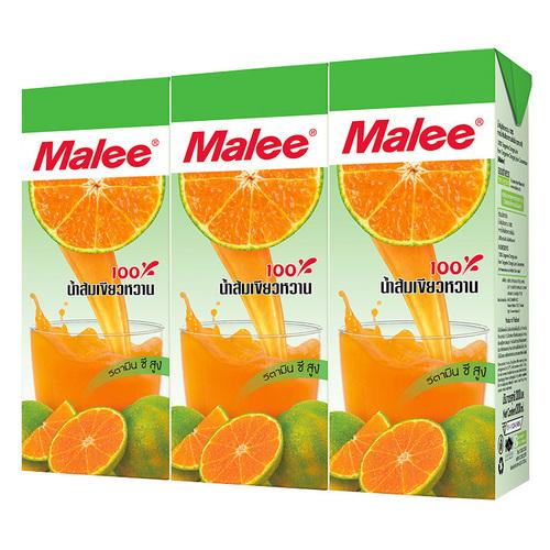 Malee 100% Tangerine Orange Juice