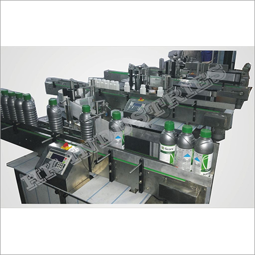 Agriculture Sticker Labeling Machine