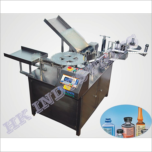 Ampoule Rotary Sticker Labelling Machine