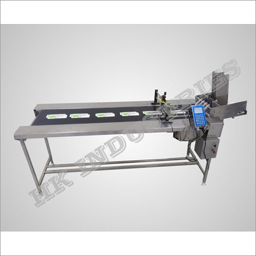 Automatic Pouch Feeder With Conveyor