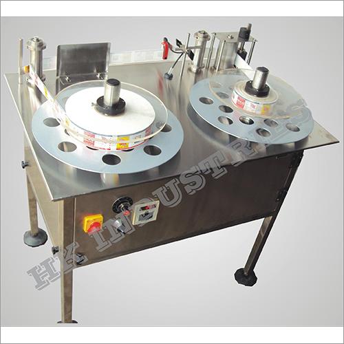 Label Roll Rewinder Machine