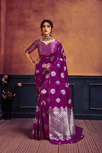 Bhagyashree  Lichi Silk Saree