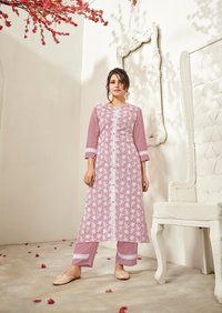 Lucknowi Kurta With Pant