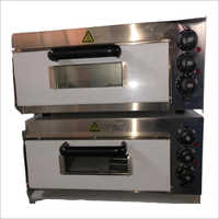 Electric Double Deck Mini Pizza Oven