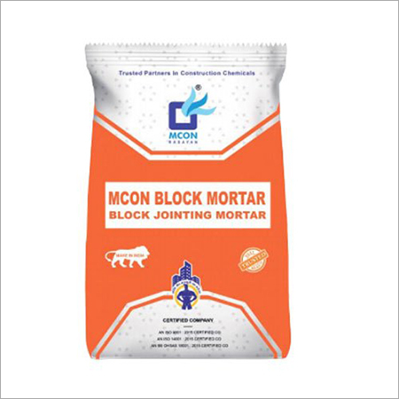 Mcon Block  Mortar