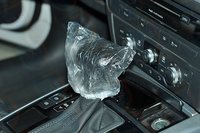 plastic gear knob cover