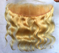 Blonde Lace Closure Human Hair Extensions