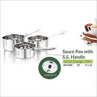 Sauce Pan With S S Handle