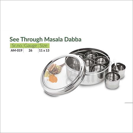 See Through Masala Dabba